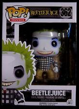BEETLEJUICE Beetlejuice Check Shirt - Funko Pop! Limited