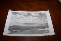 Rare Vintage RPPC Real Photo Postcard Lake Superior Made in Canada Clouds