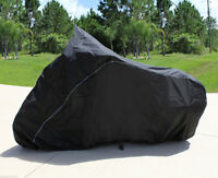 HEAVY-DUTY BIKE MOTORCYCLE COVER HARLEY DAVIDSON DUO GLIDE Touring style