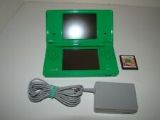 Nintendo DSi System, Emerald Green, With Pokemon Ranger Guardian Signs, Bundle