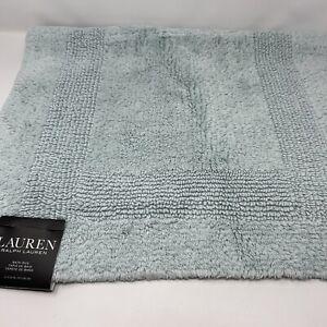 Lauren RALPH LAUREN Bath Rug  Solid Mint 21x34 inches