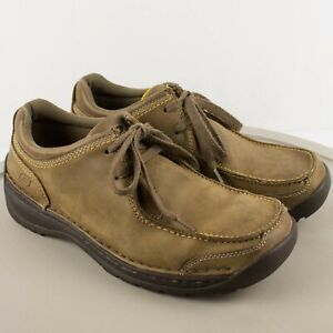 Skechers Brown Casual Leather Oxford Shoes SIZE 9.5