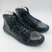 Harley Davidson Barren Black High Top Sneaker, Men's 10.5 M