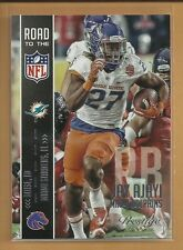 Jay Ajayi RC 2015 Prestige Road to the NFL Rookie Card # 5 Miami Dolphins