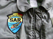 Patch Belgian Air Force SAR Search Rescue Helicopter Sea King MK