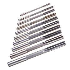 10pcs HSS H7 Reamer Straight Shank Milling Chucking Sharp Machine Cutter 3-12mm
