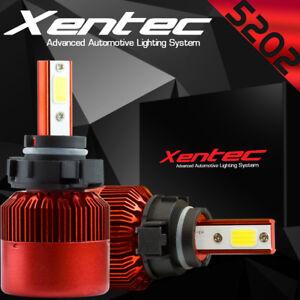 XENTEC 5202 LED Fog Light Kit for Chevrolet Silverado 1500 2008-2015 6000K White