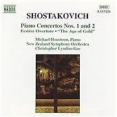 Shostakovich - Piano Concertos, etc, New Zealand Symphony Orchestra, Very Good C