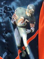 Rare VTG 80s Chicago Bears Starline Satin Jacket L