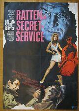 Filmplakat / movie poster  Ratten im Secret Service / Danger Route
