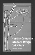 Human-Computer Interaction Design Guidelines