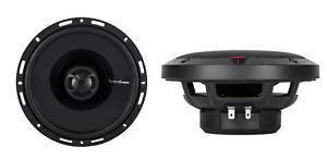 "Rockford Fosgate P1650 6.5"" 2-Way Full Range Car Audio Coaxial Speakers, Pair"