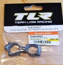 Losi TLR334027 Caster Block Set, 12.5 degrees, Aluminum: 22-4 50% off ships free