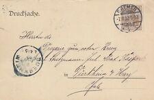 BREMEN, Postkarte 1902, Leopold Engelhardt & Biermann