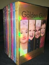 The Golden Girls Seasons 1-7 DVD Complete Series Collection - New