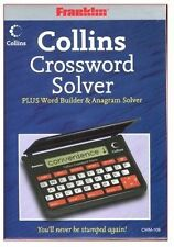 Franklin CWM109 Collins Crossword Solver Dictionary - Black