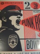 Fairey OBEY Poster Punk Rock Bowling 2018 Limited Signed Silk Screen Print
