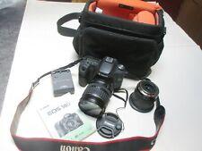 Canon EOS 50D Digital SLR Camera w/ 28-135mm zoom lens + 14-35mm + accessories.
