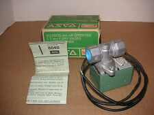 "ASCO Red-Hat Solenoid & Valve. 8040A. 110-120V. 1/4"" Pipe. 3/8' Orifice NOS"