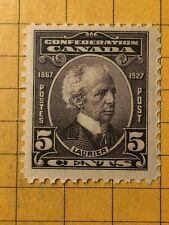 CANADA 1927 SIR WILFRID LAURIER, 5 cents Scott 144  MNH