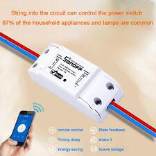 Sonoff Wifi Schalter Wireless Switch Universal Smart Home Intelligent Module NEU