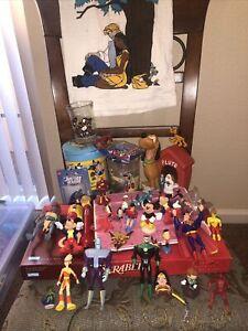 Vintage 90's Toys Mickey Disney Power Rangers TMNT Looney Tunes Etc. Huge Lot