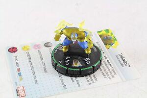 Heroclix Marvel Guardians Of The Galaxy Prime Thanosi 047b SR Super Rare