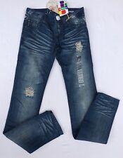Jeans Sarouel Desigual Denim Point Taille 34