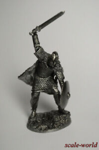 Tin soldier, figure, Sir Lancelot, Knight of the Round Table, Vc. a.C. 54 mm