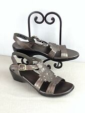 CLARKS  Bendables SANDALS Size 12W  Leather     (WO7G)