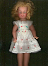Shirley Temple 12 In Vinyl Vintage 1950'S Redressed Exc.