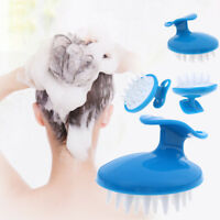 Silicone Shampoo Brush Hair Scalp Cleansing Massage Brush Soft Silicone Comb.DN