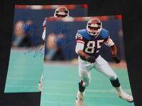 1990 New York Giants Stephen Baker Signed 8x10 Photo Vintage Autograph JB3