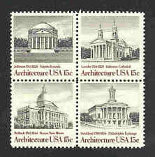 1779-1782 US NH Mint block of 4  American Architecture  year 1979 FREE shipping
