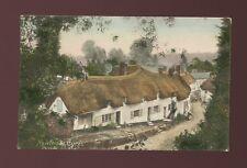 Devon NEWTON ST CYRES Used 1907 PPC