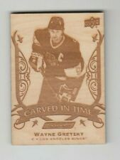 Wayne Gretzky 19-20 Engrained Carved In Time  2019-20