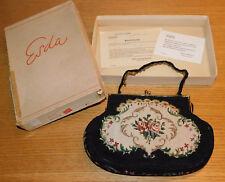 vintage ancien SAC A MAIN erda SUISSE tasche BAG SWISS handbag ROPI Gobelin