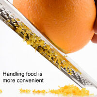Stainless Steel Hand Cheese Grater Slicer Nutmeg Zester Lemon Kitchen Tool