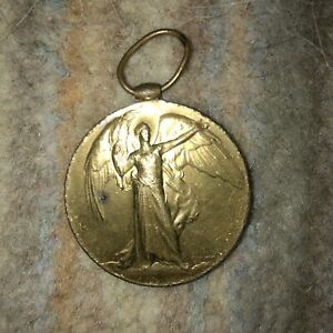 The Great War for civilisation medal 🏅1914 1919 WW1 British Army Collectable