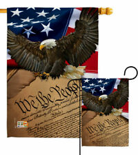 New listing We the People Garden Flag Military Armed Forces Gift Small Yard House Banner