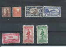 New Zealand stamps. Small MH lot from 1935 & 1936. (C088)