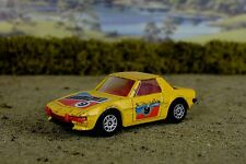 R&L Diecast, Playworn, Corgi Fiat X19 X1/9, Yellow/Red