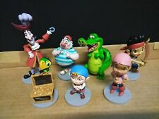 7PC Anime Cartoon Jake and The Neverland Pirates PVC Action Figure Cake Topper