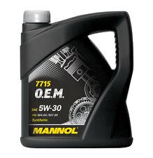 MANNOL 7715 O.E.M. 5W30 API SN/C / Aceite Lubricante para coches VW/AUDI/SKO/ 5L