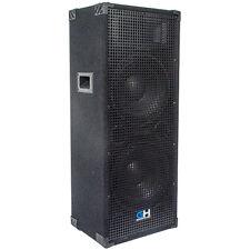 1250W Dual 12 Inch Passive PA Speaker for Band DJ Karaoke Church PA System