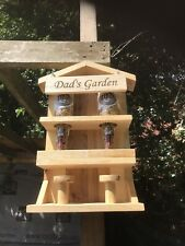 Fathers Day Gift. Hand Made Bird Feeder.