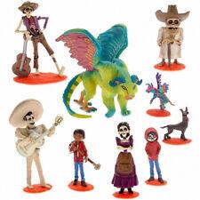 9Pcs Disney Coco Movie Action Figure Toy Cake Topper Miguel Riveras Pepita New