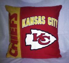 NFL Kansas City Chiefs Throw Pillow SHELL ~NEW~