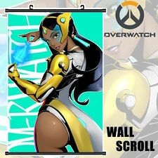 Online Game Overwatch OW Symmetra DIY Poster Wall Scroll Art Home Decor 60x90cm