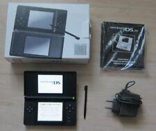 Nintendo GameBoy DS Lite Spiele Konsole in Schwarz mit OVP, Top Zustand